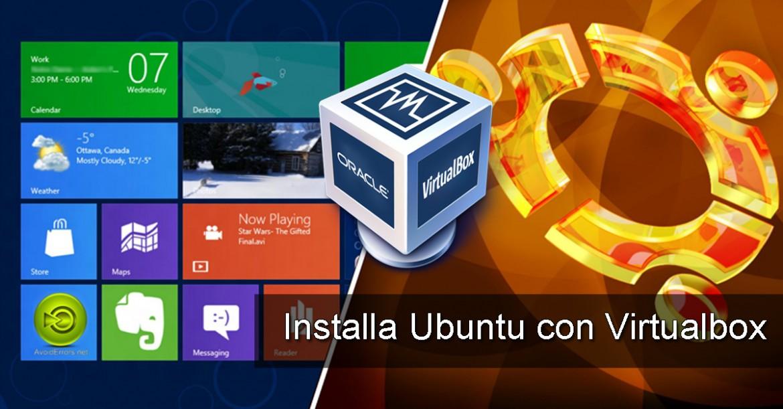 Virtual machine ubuntu virtualbox
