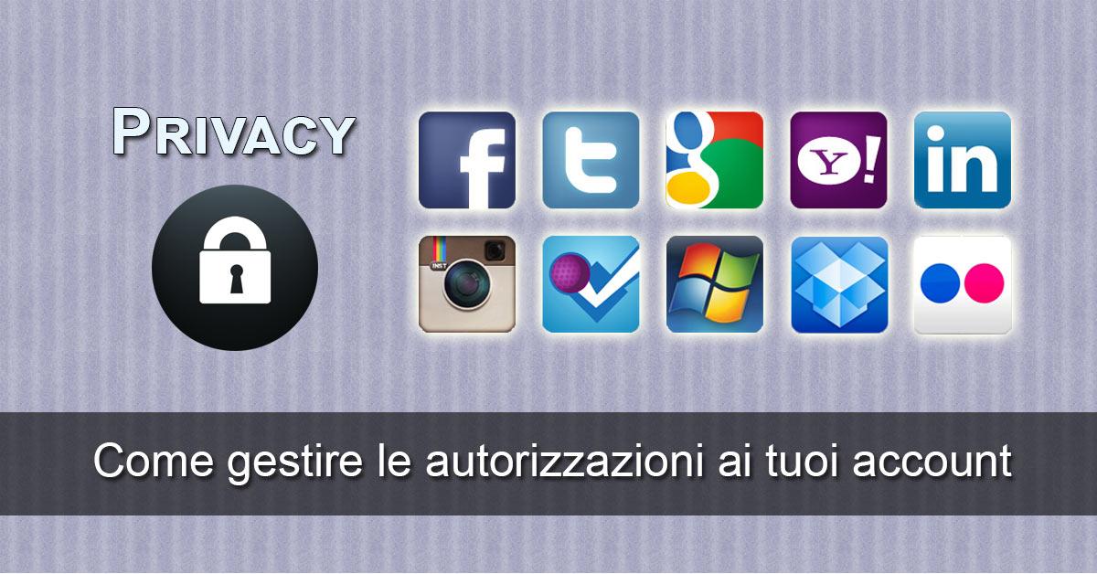 Privacy - Bloccare le Applicazioni sui Social