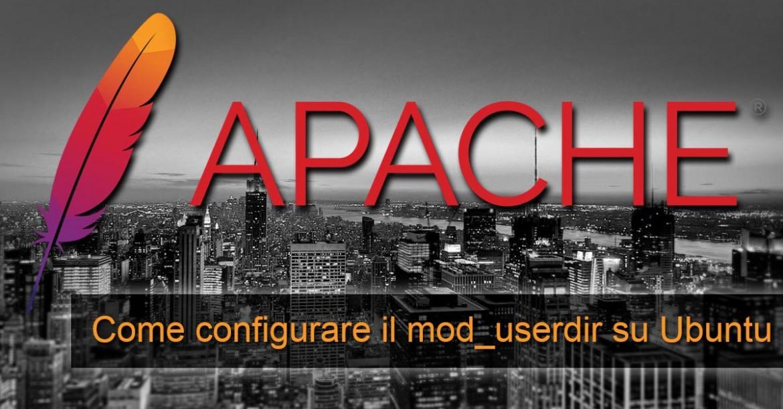 Apache modulo userdir