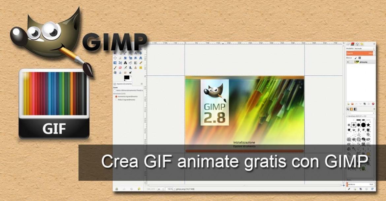 Crea GIF animata con GIMP