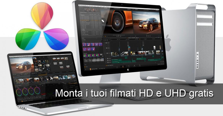 Da Vinci Resolve - Montaggio Video Gratis