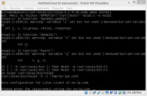 dynamic dns no ip owncloud-virtual appliances virtualbox installare duc