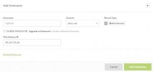 dynamic dns no ip owncloud virtual appliances virtualbox registration