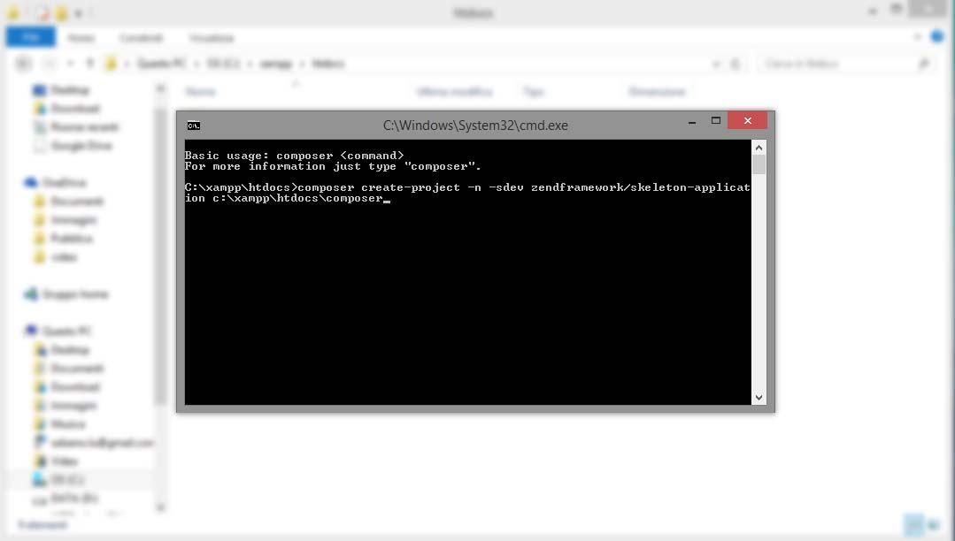 Installare Zend Framework 2 su XAMPP Windows | 1001 Vetrine