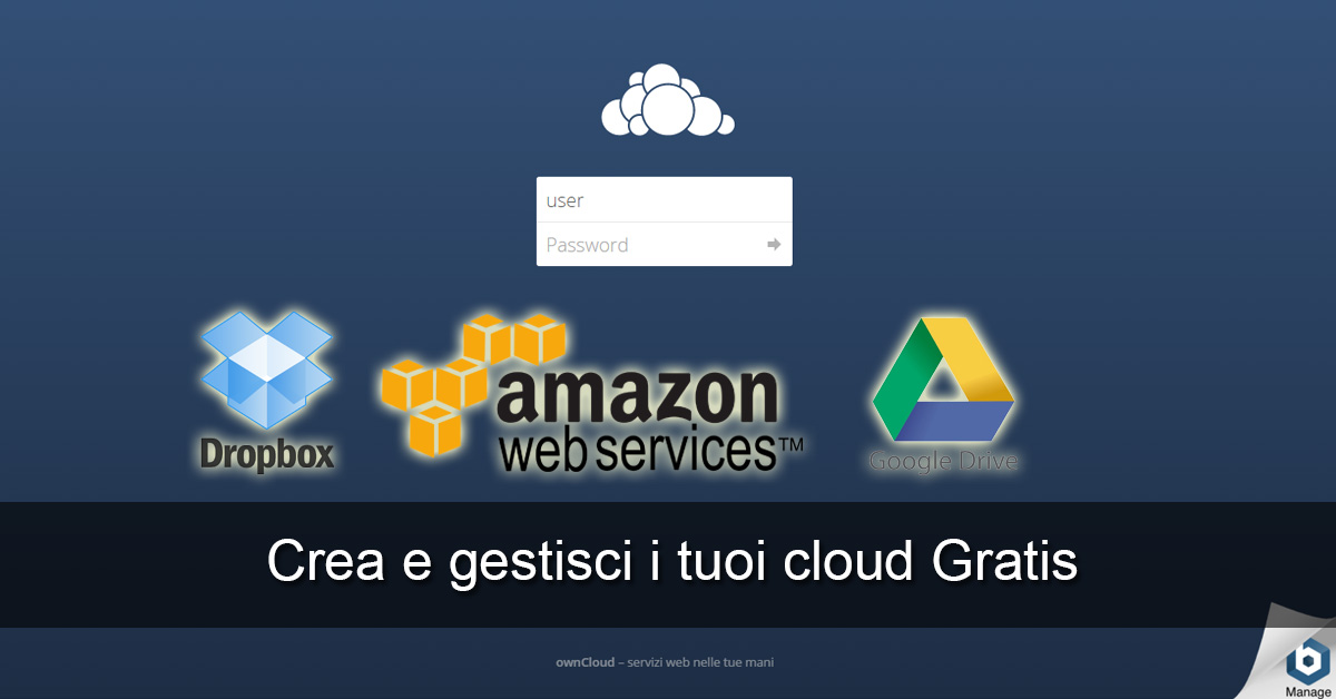 Configura ownCloud Virtual Machine VirtualBox Windows host open source Dynamic DNS No-IP DUC Google Drive Dropbox