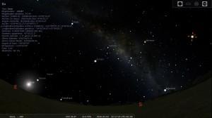 Stellarium - Cielo su Giove