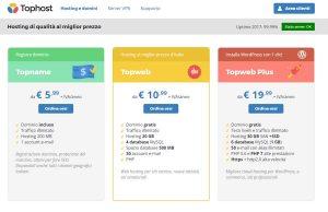 TopHost hosting italiano