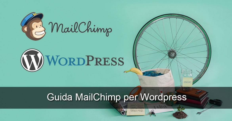 Newsletter Wordpress Mailchimp Milleunovetrine
