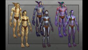 wow shadowlands nuovi modelli